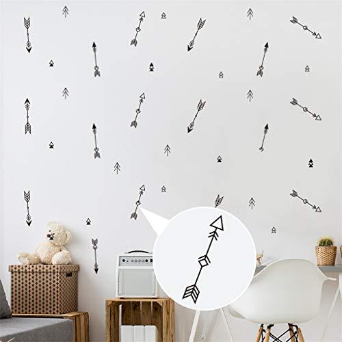 Jkhhi Dekorativer Aufkleber des Einfachen Musters Wandaufkleber Wanddekoration Kunstdruck Wandtattoo für Wohnzimmer Wohnung Deko