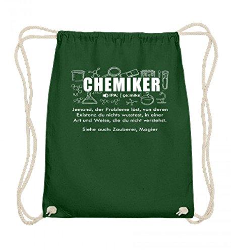Hochwertige Baumwoll Gymsac - Chemie Shirt · Chemiker · Chemikerin · Experiment · Reagenzglas · Chemielabor · Beruf · lustig · Spruch · Pulli · Jacke · Hoodie · T-Shirt · Geschenk