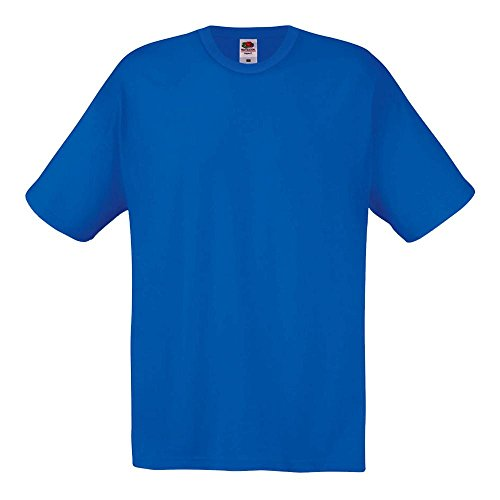 Fruit of the Loom - T-Shirt 'Original T' Royal