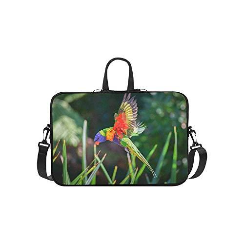 2009 Handtasche (Flying Bird vorbereitet für die Landung auf Muster Aktentasche Laptoptasche Messenger Schulter Arbeitstasche Crossbody Handtasche für Geschäftsreisen)
