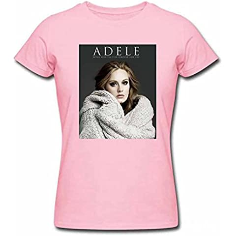 Adele Adkins Photo Printed Women's Cotton T shirt