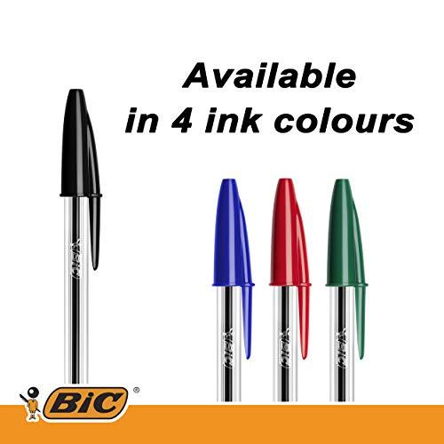 Bic Cristal Original Punta Media 1 mm Confezione 50 Penne Colore Nero - 5