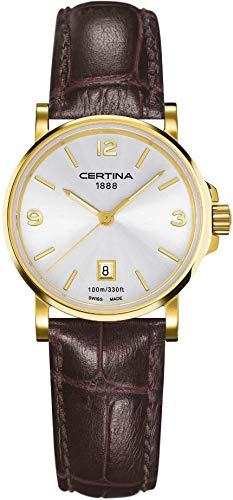 Certina DS CAIMANO c017.210.36.037.00Femme Montre bracelet classique simple