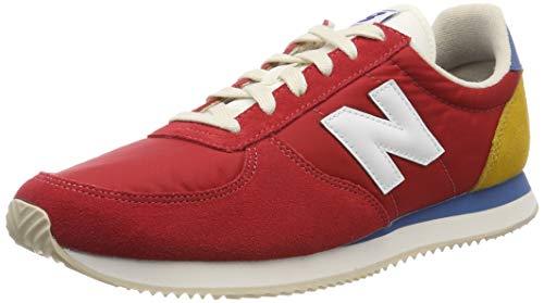 New Balance Unisex-Erwachsene 220 Sneaker, Rot (Team Red/Varsity Gold Fh), 45.5 EU -