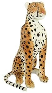 Plüschtier Gepard - sitzend - 80 cm