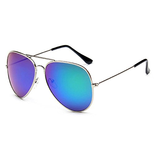 Creamily Kids Aviator Sunglasses UV Protection Glasses Mirrored Lens Eyewear Age 2-9