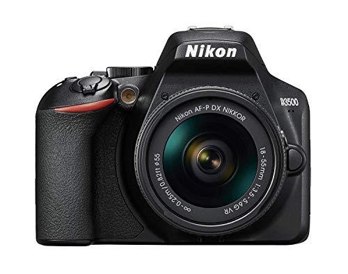 Nikon D3500 - Cámara réflex de 24 MP (Full HD, ISO de 100-25600, Sistema de autofoco, Modo guía,...