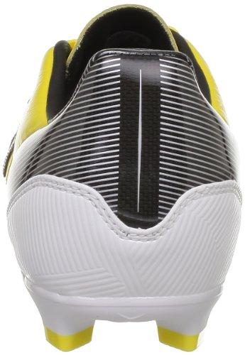 adidas  F30 Trx Fg Lea,  Scarpe da calcio uomo Giallo (Jaune (Black 1))