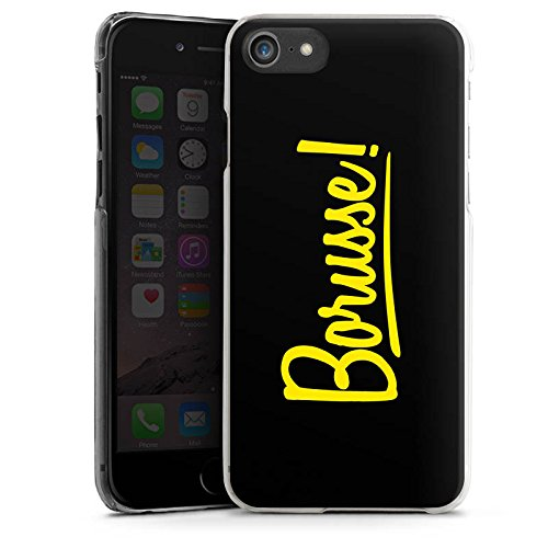 Apple iPhone 7 Silikon Hülle Case Schutzhülle Borusse Borussia Dortmund BVB Hard Case transparent