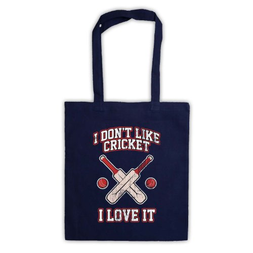 I Don't Like Cricket, I Love It-Borsa Blu navy