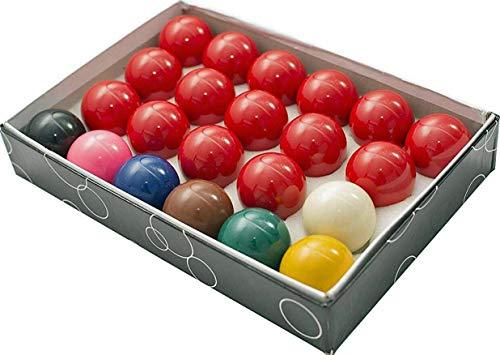 Trade Full Size Snooker Ball Set (21/40,6cm) mit 6grün Triangle Kreide