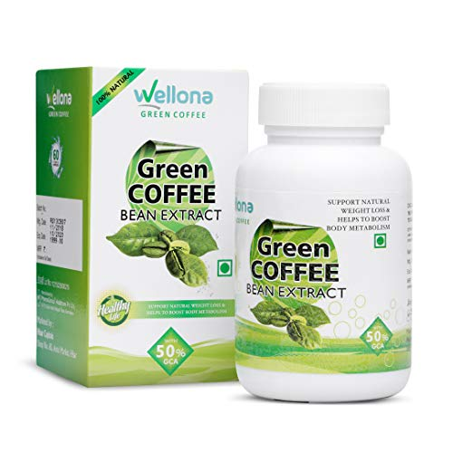 Wellona Green Coffee Beans Extract Capsules for Weight Loss