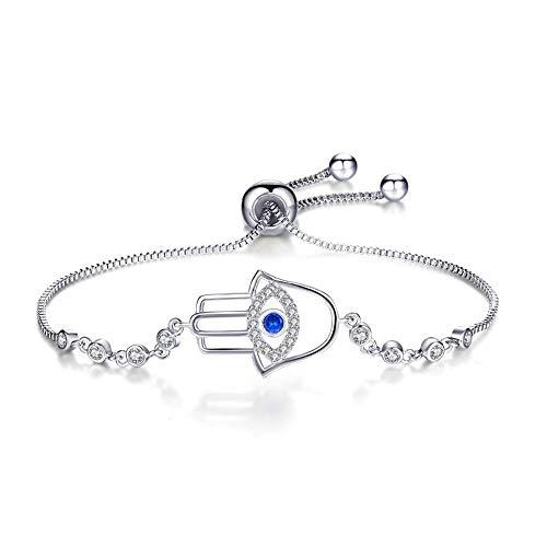 ge Form Platinum Hand verschönert Zirkon Verstellbare Armband ()