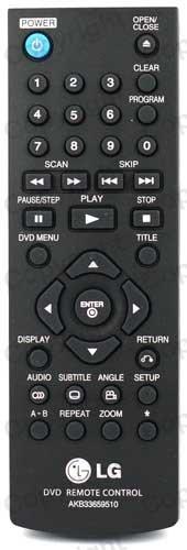 LG DVD-Player Ersatz-Fernbedienung (Lg Dvd Fernbedienung)