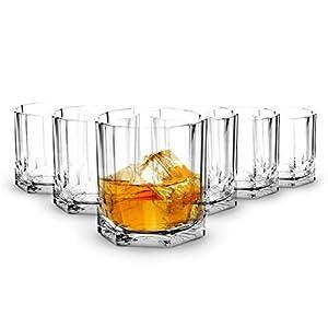 RB Unzerbrechlich Whiskey Rocks Gläser Polycarbonat Kunststoff 37cl, Set 6