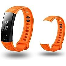 Correa de reloj inteligente para Huawei Honor 3, de silicona de repuesto correa de reloj pulsera watch band vneirw