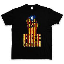 FREE CATALONIA FIST T-SHIRT – Independence independencia la Catalogne catalan catalane Socialismo Comunismo indipendenza catalogna catalano bandera Tamaños S – 5XL