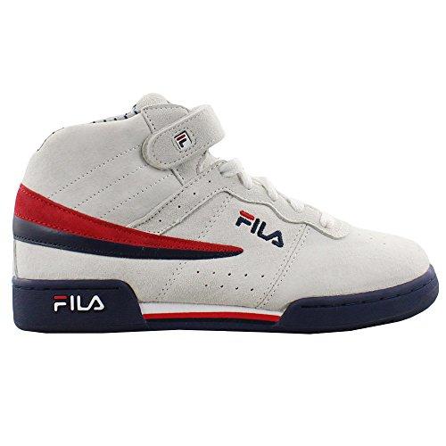 Fila Kids F13 Mid Pinstripe White (GS)
