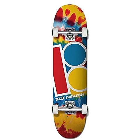 Plan B Complete Skateboard Team Tie Dye Mini 7.625 Komplettskateboard