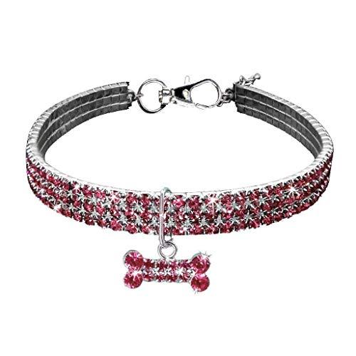 NBHUZEHUA - Collar para Perro, Cachorro, Chihuahua, pequeño, Mediano, Accesorios para Mascotas