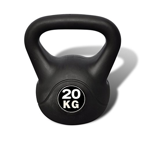 Festnight Professionale Kettlebell 20 kg,25 x 25 x 36 cm