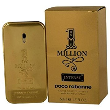 Paco Rabanne 1 Million Intense By Paco Rabanne Edt Spray 1.7 Oz