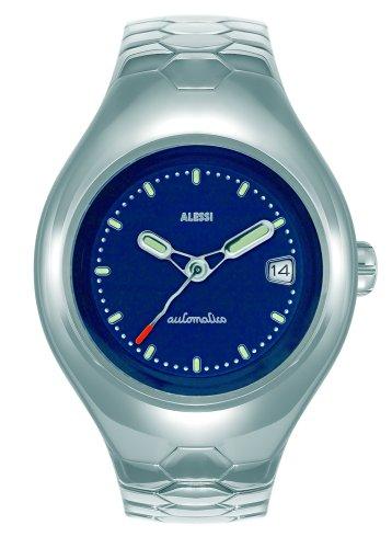 Alessi - AL 11001 - Montre Homme - Quartz - Analogique - Bracelet Acier Inoxydable Argent