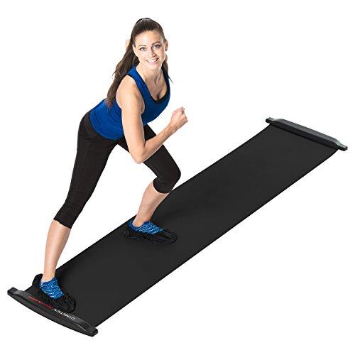 41ROGSpuDZL - Mit dem Slide Board zur Traumfigur - was steckt hinter diesem neuen Fitnesstrend?
