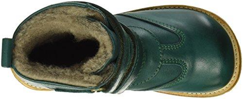 Bisgaard TEX boot, Bottes courtes avec doublure chaude mixte enfant- Verte (1002 Green)