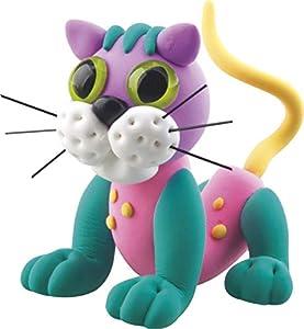 Totum 25639 - Kit Creativo de Espuma para Mascotas, diseño de Gato, Multicolor
