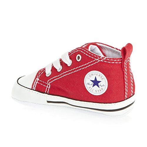 Converse Chucks FIRST STAR HI rot - weiß