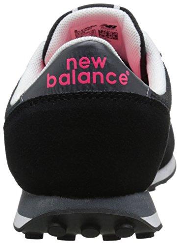 New Balance 410 Donna Sneaker Nero Nero-Rosa