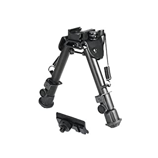 UTG Super Duty Tactical OP1 QD Bi-Pod, Cent Ht:5.9'- 7.3', Leg Length:5.5'-7.4'