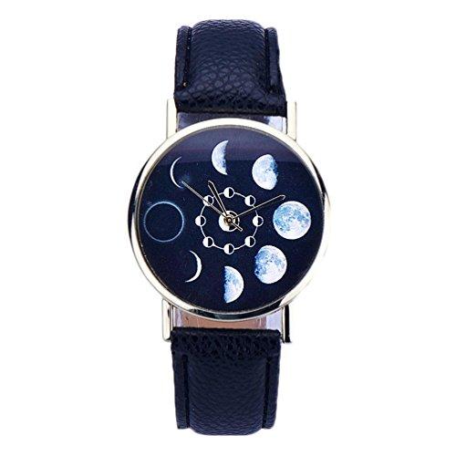 ouneed-cute-lunar-eclipse-pattern-leather-analog-quartz-wrist-watch-black