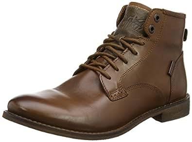 levi 39 s men 39 s baldwin boots brown 27 6 uk shoes bags. Black Bedroom Furniture Sets. Home Design Ideas