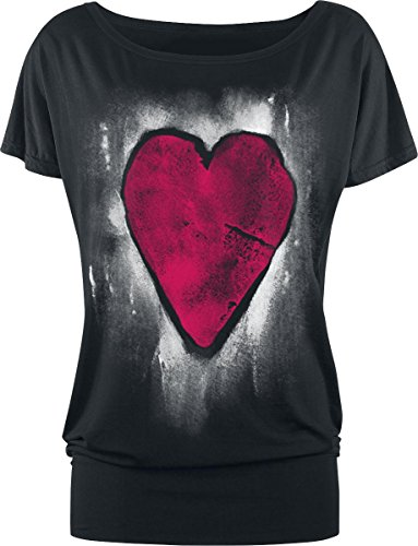 Full Volume by EMP Heart Of Stone Maglia donna nero S