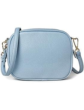 Saint Kaiko Umhängetaschen Damen PU Leder Schultertaschen Klein Handtaschen Teenager zum Einkaufen Reise Ins Büro...