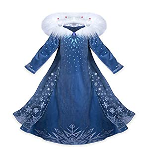 Princess Vestito Carnevale Bambina Abito Costume Bimbi Deluxe Elsa 131 1 spesavip