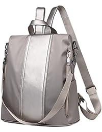 54660c9e20ebd Zhhlinyuan Modisch Rucksack Schultertasche Weich PU-Leder Teens Daypack  Handtasche Teenager Mädchen Taschen für 3