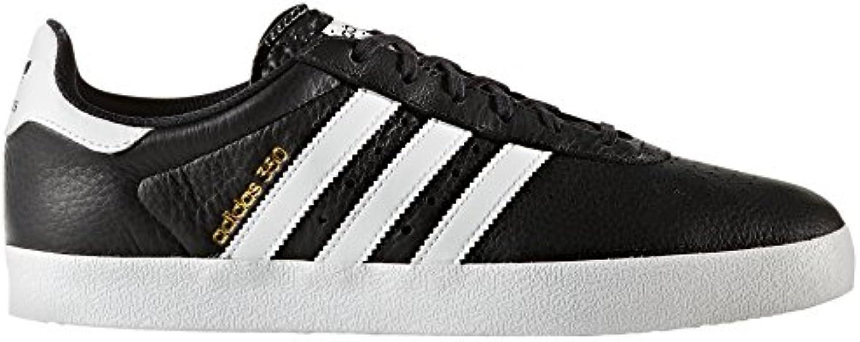 Adidas 350 Schwarz und Rot. Sportschuhe für Männer. Sneaker. Trainer