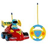 Tonor Rennauto Ferngesteuertes Spielzeugauto für Kleinkinder und Kinder Kindergeschenk Rot