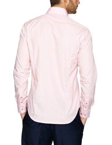 Guide London - Chemisier - Col à boutons - Homme Rose