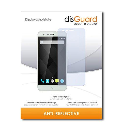 disGuard® Bildschirmschutzfolie [Anti-Reflex] kompatibel mit Ulefone Paris Arc HD [4 Stück] Entspiegelnd, Matt, Antireflektierend, Extrem Kratzfest, Anti-Fingerabdruck - Panzerglas Folie, Schutzfolie