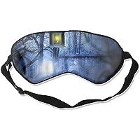 Sleep Eye Mask Candle Light Lightweight Soft Blindfold Adjustable Head Strap Eyeshade Travel Eyepatch preisvergleich bei billige-tabletten.eu