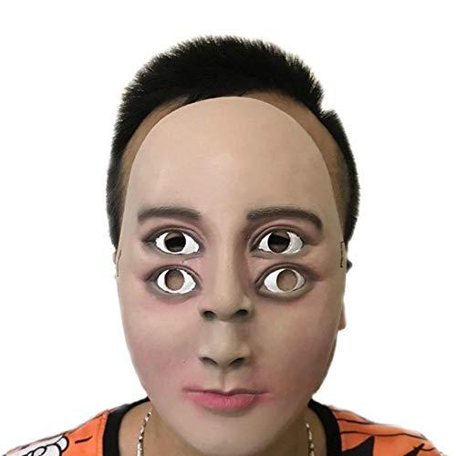 Squenve Halloween-Maske für Abschlussball, Verkleidung, Horror-Maske, Kopfbedeckung, Abschlussball, Party, Maskerade, Requisiten, Vintage-Stil, römischer Stil, - Römische Kopfbedeckung Kostüm