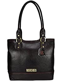 d270dfcf1f35 Moochies Ladies Genuine Leather Purse-Brown(New)