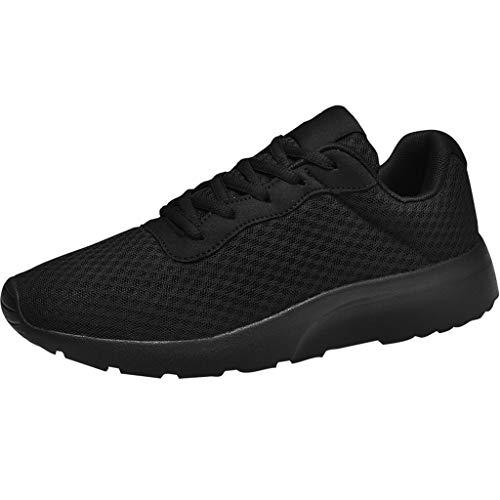 SHE.White Herren Damen Sneaker Laufschuhe Straßenlaufschuhe Paar Sportschuhe Turnschuhe Outdoor Leichtgewichts Freizeit Atmungsaktive Fitness Schuhe 39-46