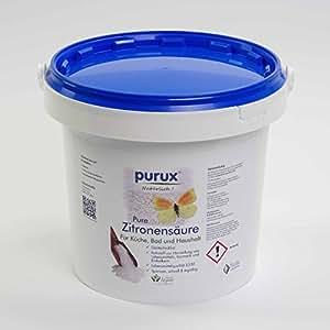 Zitronensäure 5 kg reine Lebensmittelqualität Granulat C6H8O7