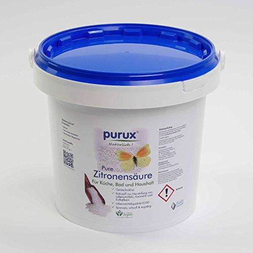 Zitronensäure 800 gr Lebensmittelqualität, Entkalker, Granulat, C6H8O7, e330