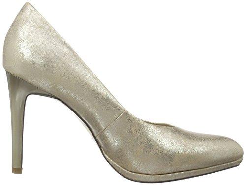 s.Oliver 22419, Scarpe con Tacco Donna Beige (champagner 404)